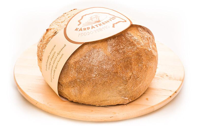 Kárpát kenyér 1kg, 2kg gömbölyű