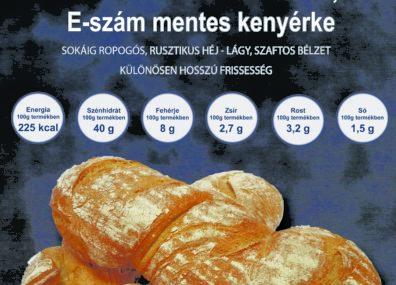 Prima Pan kenyér a Gere pékség üzleteiben